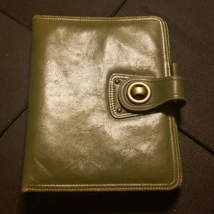 Franklin Covey leather organizer